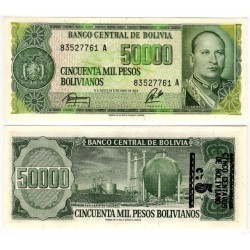 (196) Bolivia. 1987. 5 Centavos (SC)