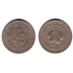 (16) Ghana. 1967. 10 Pesewas (BC+)