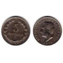(134) El Salvador. 1974. 5 Centavos (MBC+)