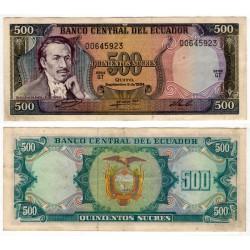 (124a) Ecuador. 1984. 500 Sucres (MBC)