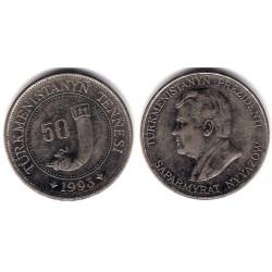 (5) Turkmenistán. 1993. 50 Tenge (MBC)