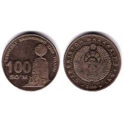 (32) Uzbekistán. 2009. 100 Som (MBC)