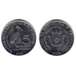 Burundi. 2014. 5 Francs (SC)