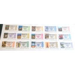 Loteria Nacional. 2007. Año Completo (51 Décimos)