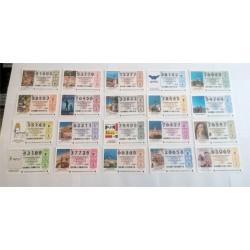 Loteria Nacional. 2009. Año Completo (51 Décimos)