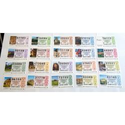 Loteria Nacional. 2010. Año Completo (51 Décimos)