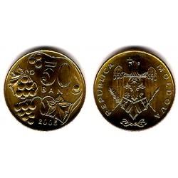 (10) Moldavia. 2005. 50 Bani (SC)