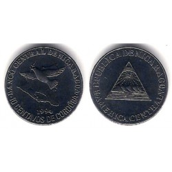 (81) Nicaragua. 1994. 10 Centavos (SC)