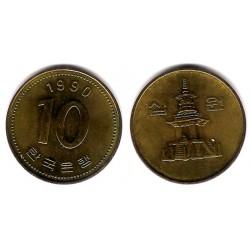 (33.1) Corea del Sur. 1990. 10 Won (MBC+)