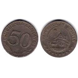 (190) Bolivia. 1967. 50 Centavos (BC-)