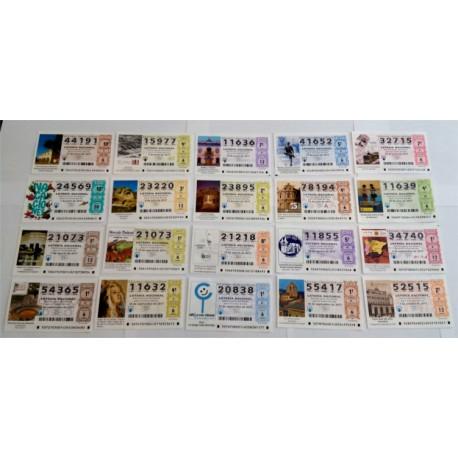 Loteria Nacional. 2017. Año Completo (51 Décimos)