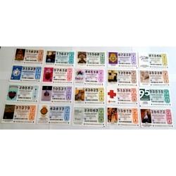 Loteria Nacional. 2018. Año Completo (51 Décimos)