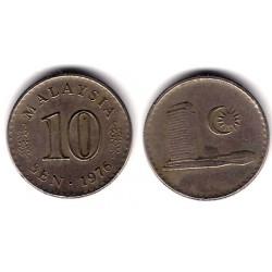(3) Malasia. 1976. 10 Sen (MBC)