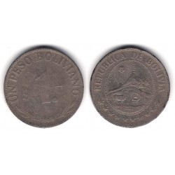 (192) Bolivia. 1969. 1 Peso (BC+)