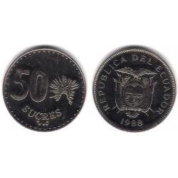 (93) Ecuador. 1988. 50 Sucres (MBC+)