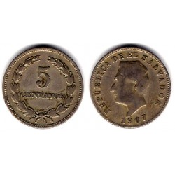 (134) El Salvador. 1967. 5 Centavos (BC)