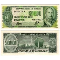 (170a) Bolivia. 1984. 50000 Pesos (SC)