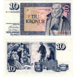 (48a) Islandia. 1961. 10 Kronur (SC)