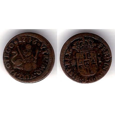 Fernando VI. 1746. 1 Maravedi (MBC) Ceca de Segovia