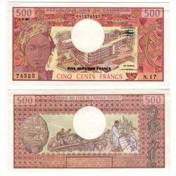 (15d) Camerún. 1983. 500 Francs (EBC+)
