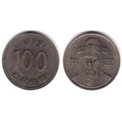 (35.2) Corea del Sur. 1994. 100 Won (MBC-)