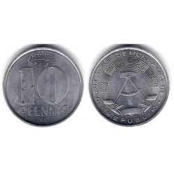 (10) Alemania Democrática. 1967(A). 10 Pfennig (MBC)