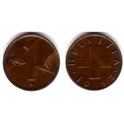 (46) Suiza. 1952(B). 1 Rappen (EBC)