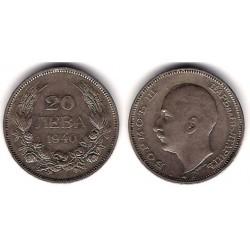 (47) Bulgaria. 1940. 20 Leva (MBC)