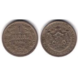 (37) Bulgaria. 1925. 1 Lev (MBC)