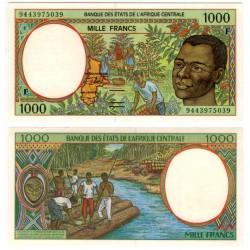 (302Fb) Estados África Central. 1994. 1000 Francs (SC)