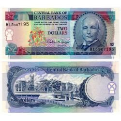 (46) Barbados. 1995. 2 Dollars (SC)