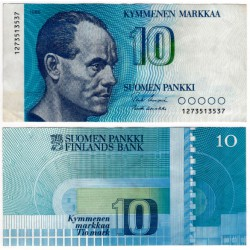 (113a) Finlandia. 1986. 10 Markkaa (MBC)