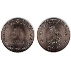 (63) Myanmar. 1999. 50 Kyats (SC)