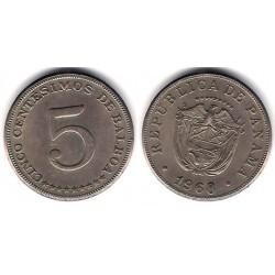 (23.2) Panamá. 1968. 5 Centesimos (MBC+)