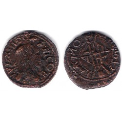 Luis XIII. 1642. Seiseno (MBC-) Ceca de Barcelona