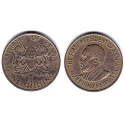 (14) Kenia. 1971. 1 Shilling (BC+)
