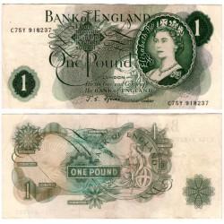 (374e) Gran Bretaña. 1960-77. 1 Pound (MBC+)