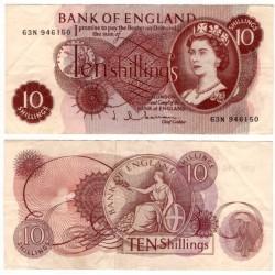 (373b) Gran Bretaña. 1960. 10 Shillings (MBC)