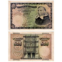 Estado Español. 1946. 500 Pesetas (EBC+) Sin Serie