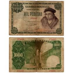 Estado Español. 1946. 1000 Pesetas (BC-) Sin Serie