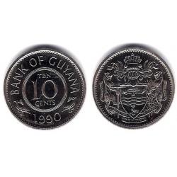 (33) Guyana. 1990. 10 Cents (SC)