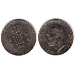 (57) Luxemburgo. 1972. 10 Francs (MBC)