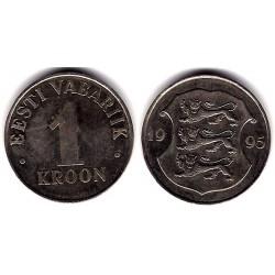 (28) Estonia. 1995. 1 Kroon (MBC)