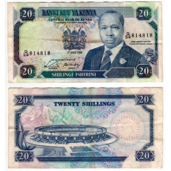 (25c) Kenia. 1990. 20 Shillings (MBC)