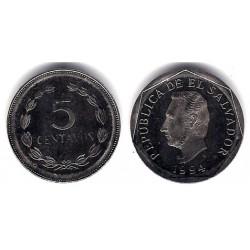 (154b) El Salvador. 1994. 5 Centavos (SC)