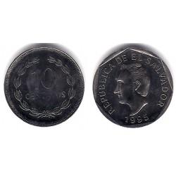 (155b) El Salvador. 1995. 10 Centavos (SC)