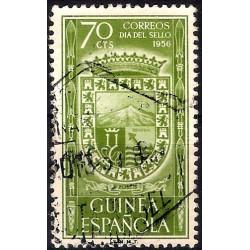 (346) Guinea Española. 1956. 70 Céntimos (Usado)