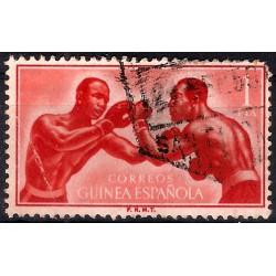 (354) Guinea Española. 1958. 1 Peseta (Usado)