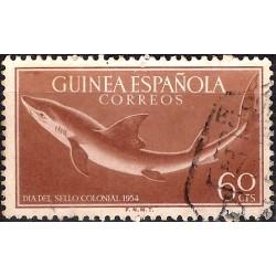 (336) Guinea Española. 1954. 60 Céntimos (Usado)