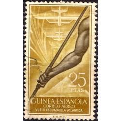 (C20) Guinea Española. 1957. 25 Pesetas (Usado)